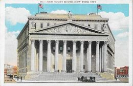 Foley Square - New Court House, New York City NY Post Card N° 605 Non Circulated - Places & Squares