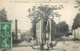 ARCUEIL-CACHAN - La Rue Emile Raspail,la Rue Cauchy Et L'Aqueduc (ELD éditeur). - Arcueil