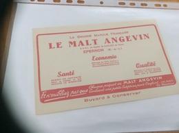 """Buvard * """"LE MALT ANGEVIN - EPERON (28)"""" - Café & Thé"""