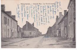 28 Eure Et Loir -  THIRON-GARDAIS -  Grande Rue - La Gendarmerie - Autres Communes