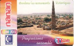 Burkina Faso,  Telmob 1000 F CFA - Burkina Faso