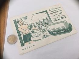 "Buvard ""Savon De Toilette PALMOLIVE"" (football) - Parfum & Kosmetik"