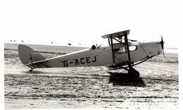 SOUTHPORT BEACH DH FOX MOTH   ++ 14 * 9 CM DE HAVILLAND  AIRCRAFT - Aviación