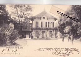 CPA - LUXEMBOURG - MONDORF-les-BAINS - Vue De L'établissement En Entrant - Edit NELS N° 3 Série 3 - Bel état - Mondorf-les-Bains