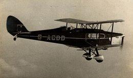 DH FOX MOTH   ++ 18 * 10 CM DE HAVILLAND  AIRCRAFT - Aviación