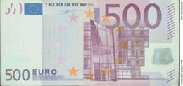 EURO BÉLGICA(Z) 500 T001 DUISENBERG - EURO