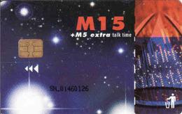 Lesotho, Chip, Tele-Com M15, - Lesotho