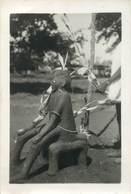 CPA / PHOTOGRAPHIE AFRIQUE / FETICHE / STATUE - Cartes Postales