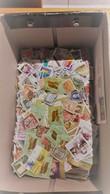 Lot Plus De 3500 Timbres Tous Pays Sauf France, Toutes époques (500 Gr) Certains En Plusieurs Exemplaires,tous Décollés. - Stamps