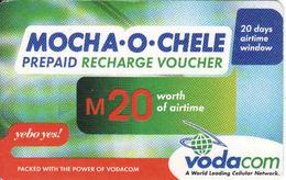 Lesotho, Recharge Vodacom M20, - Lesotho