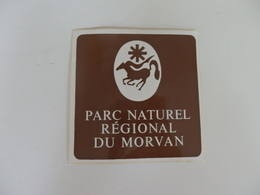 Autocollant Du Parc National Du Morvan (58). - Autocollants
