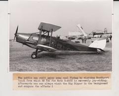 DH FOX MOTH   ++ 16 * 11 CM DE HAVILLAND  AIRCRAFT - Aviación