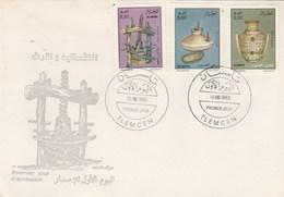 Algérie FDC 1993 Yvert Série 1044 Et 1046 Traditions Silo Meule Pressoir - Algeria (1962-...)