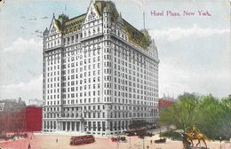Manhatan - The Plaza Hotel, New York, 5th Avenue - Post Card N° 1050 - Manhattan