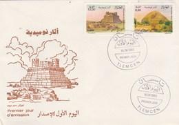 Algérie FDC 1993 Yvert Série 1047 Et 1048 Monuments Numides - Algeria (1962-...)