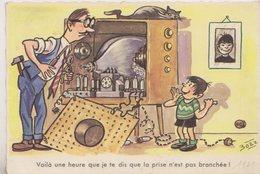 """CPA HUMOUR BOZZ  """" Voila Une Heure ..  """" - Illustrateurs & Photographes"""