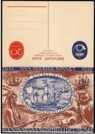 Svezia/Suède/Sweden: Intero, Stationery, Arrivo Dei Svedesi In America, Arrival Of The Swedes In America, Arrivée Des Su - Storia