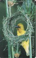 South Africa Chip R15, Bird, Fauna, Cape Weaver - Afrique Du Sud