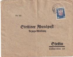 LITUANIE 1930 LETTRE DE KLAIPEDA POUR STETTIN - Lithuania