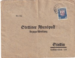 LITUANIE 1930 LETTRE DE KLAIPEDA POUR STETTIN - Lituanie