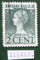 READ Regeringsjubileumzegel 2 Ct NVPH 121G 121 G (Mi 123) 1923 Gestempeld / USED NEDERLAND / NIEDERLANDE - Period 1891-1948 (Wilhelmina)