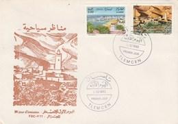 Algérie FDC 1993 Yvert Série 1054 Et 1055 Sites Tipaza Et Kerzaz - Algeria (1962-...)