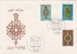 Algérie FDC 1993 Yvert Série 1037 à 1039 Heurtoirs - Algeria (1962-...)