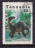 Tanzania 1991, Dino Minr 856, Really Used - Tanzania (1964-...)