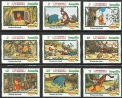 1982 Anguilla Birth Centenary Of Alan Alexander Milne: Winnie The Pooh Set  (** / MNH / UMM) - Bandes Dessinées