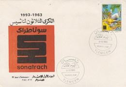 Algérie FDC 1993 Yvert 1056 SONATRACH Hydrocarbures - Algeria (1962-...)