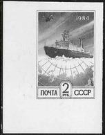 URSS: Nave Rompighiaccio E Cerchi Polari, Brise-glace Et Cercles Polaires, Ship Icebreaker And Polar Circles - Navi Polari E Rompighiaccio