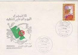 Algérie FDC 1994 Yvert 1057 Journée Du Chahid - Oiseau - Algeria (1962-...)