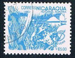 Nicaragua 1301 Used Sugar Cane Ul 1983 (N0615)+ - Nicaragua