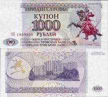 Transnistria  1993 - 1000 Rublei - Pick 23 UNC - Andere
