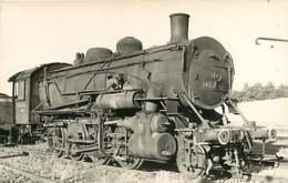 240519D TRANSPORT TRAIN CHEMIN DE FER - PHOTO VILAIN - 140B248 EST MONTROUGE - Gares - Avec Trains