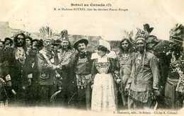 M Et Madame BOTREL Chez Les Derniers Peaux-Rouges  (Canada)  777 - Indiens De L'Amerique Du Nord