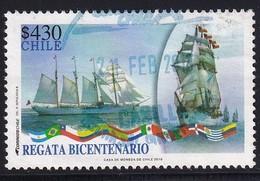 Chile 2010, Ship, Regata, Minr 2376 Vfu - Chile
