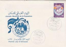 Algérie FDC 1994 Yvert 1066 Journée Population - Algeria (1962-...)