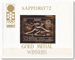 Ajman 1970, Postfris MNH, Olympic Winter Games - Ajman