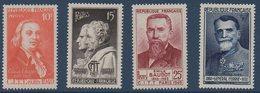 FR 1949  Congrès International Télégraphe Et Téléphone   N°YT  844-847  ** MNH - France