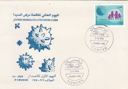 Algérie FDC 1994 Yvert 1076 Lutte Contre SIDA Médecine - Algeria (1962-...)