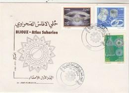 Algérie FDC 1994 Yvert Série 1070 à 1072 Bijoux Atlas Saharien - Algeria (1962-...)