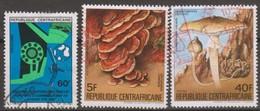 Repubblica Centroafricana 1983-84 Selezione 3v Us - Central African Republic