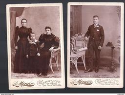 PHT7 USA LOT DE SIX PHOTOS 17 X 11,5 Cm Personnages Photographe  Monaco à San Francisco - Anciennes (Av. 1900)