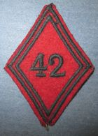 Losange  42° Régiment D'Artillerie-Precoce - Armée De Terre