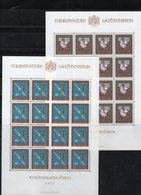 """LIECHTENSTEIN AÑO 1977, SERIE IVERT 617/20  """" JOYAS IMPERIALES """"  EN PLIEGOS,  MNH. - Liechtenstein"""