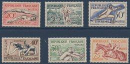 FR 1953  Jeux Olympiques D'Helsinki   N°YT  960-965  ** MNH - Neufs