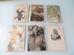 BEAUCOUP PLUS QUE 300 CARTES POSTALES ANCIENNES ,lot Vraiment à Bien Voir Et étudier - 100 - 499 Postcards