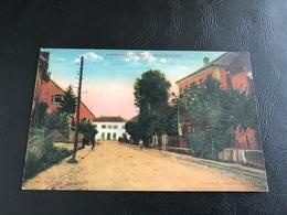 AUDINCOURT (Doubs) Avenue De La Gare - 1944 - Autres Communes