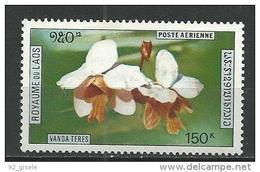 """Laos Aerien YT 89 (PA) """" Orchidées """" 1972 Neuf** - Laos"""